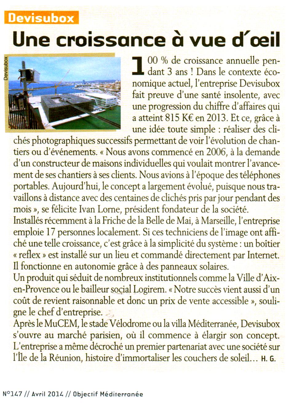 Interview Ivan LORNE - OIbjectif Méditerranée